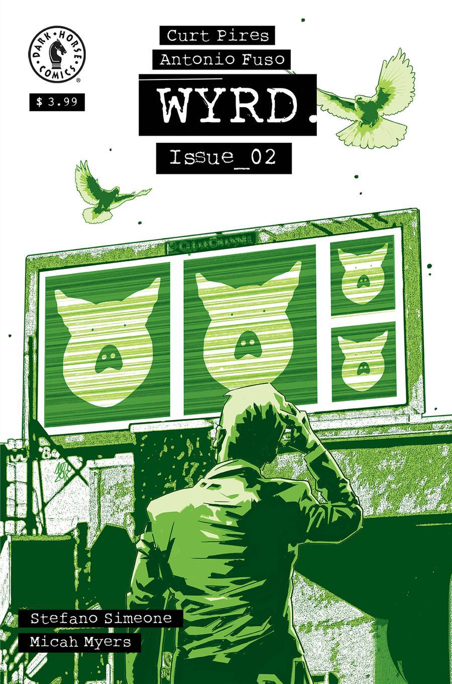 Wyrd #2 Cover A Regular Antonio Fuso Cover