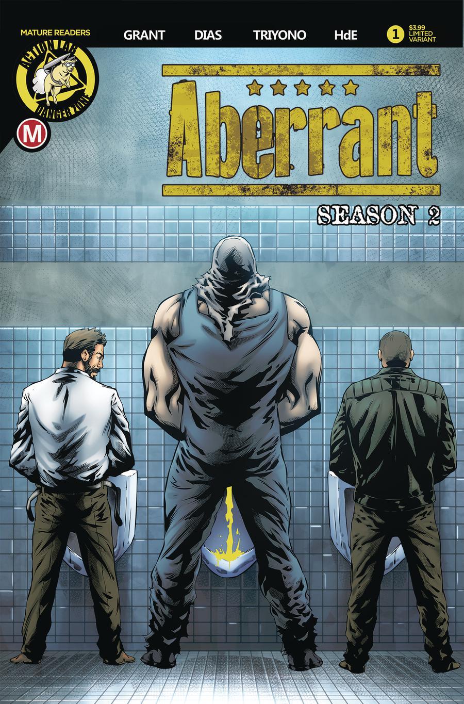 Aberrant Season 2 #1 Cover B Variant Davi Leon Dias Cover