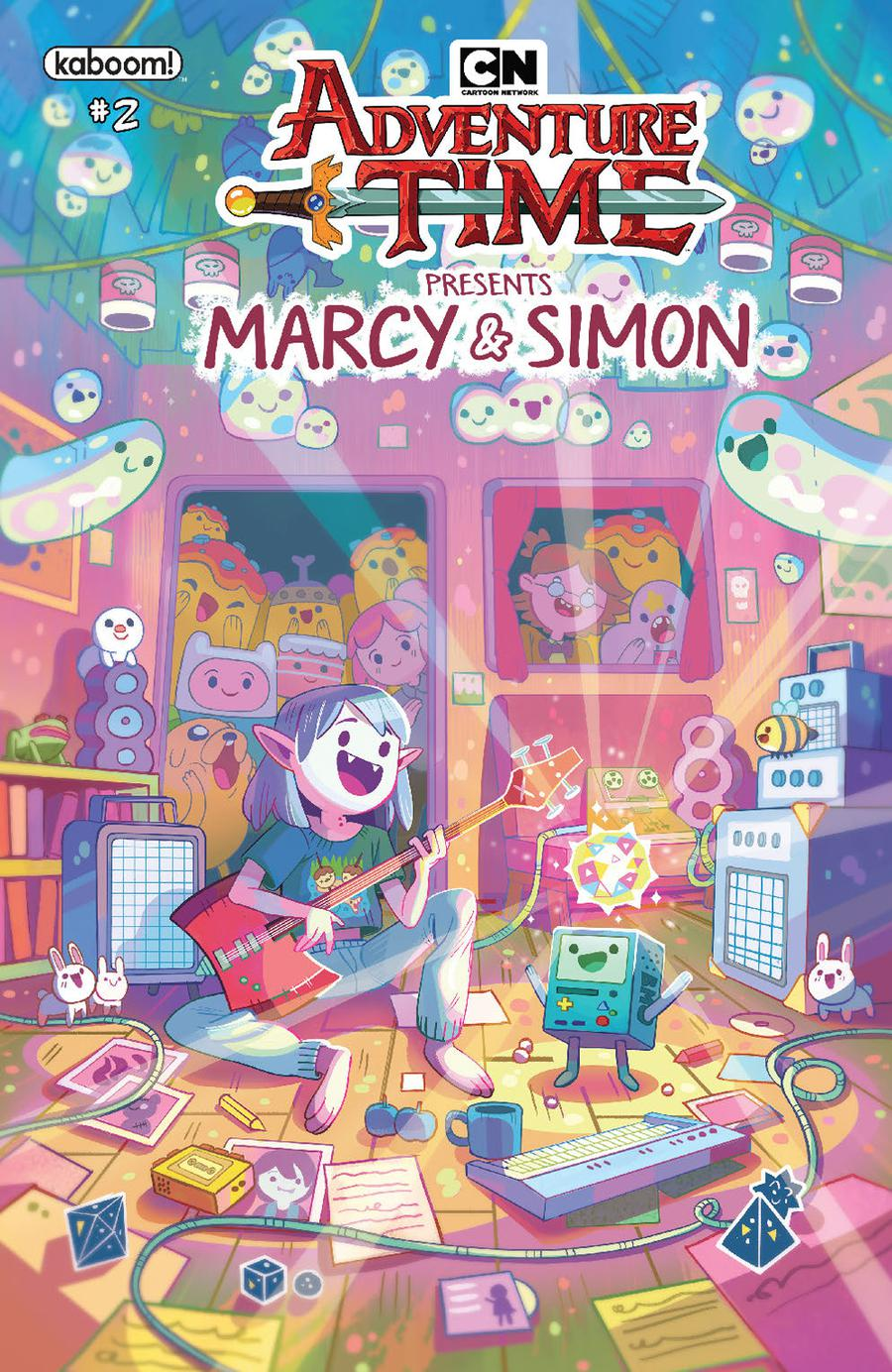 Adventure Time Marcy & Simon #2 Cover B Variant Ray Tonga Marcy Preorder Cover
