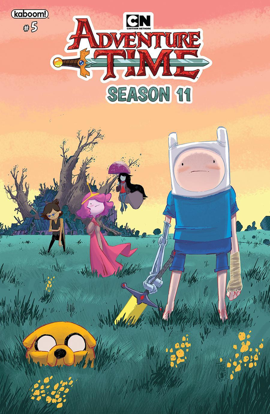 Adventure Time Season 11 #5 Cover A Regular Jorge Corona Cover