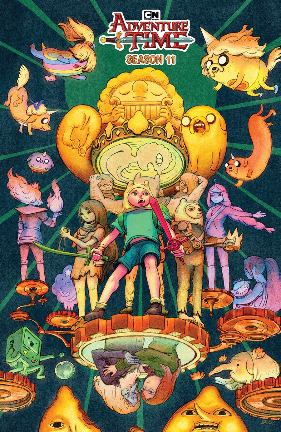 Adventure Time Season 11 #5 Cover B Variant Julie Benbassat Preorder Cover