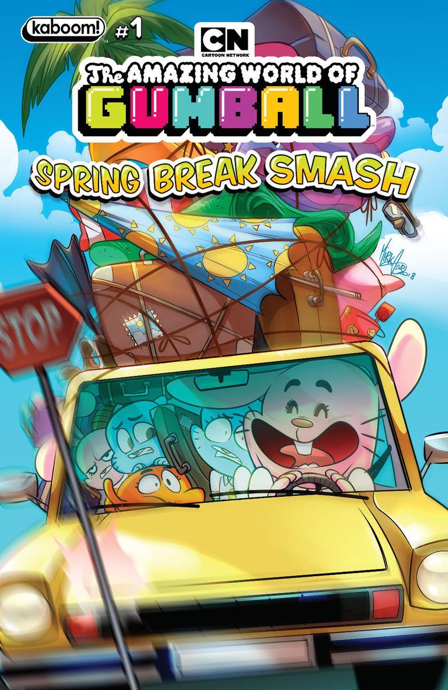 Amazing World Of Gumball Spring Break Smash #1 Cover A Regular Mirka Andolfo Cover