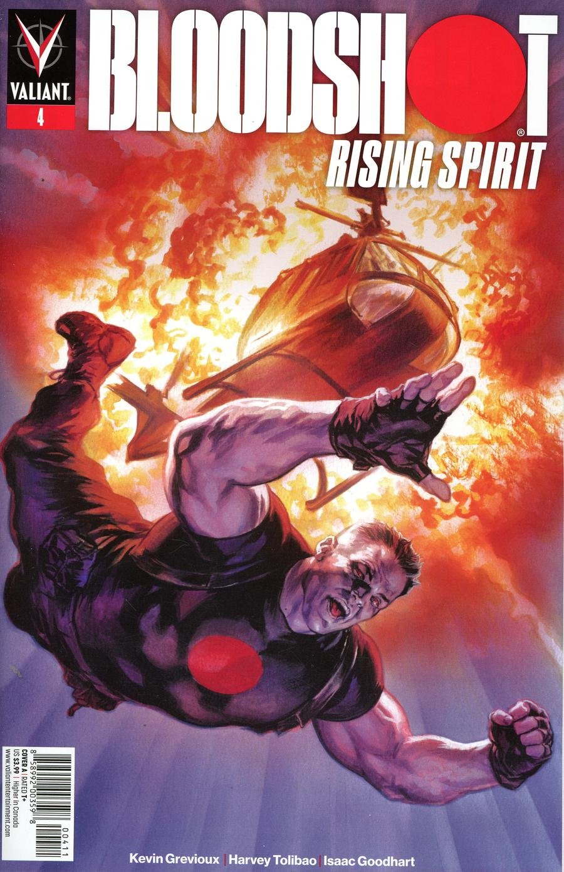 Bloodshot Rising Spirit #4 Cover A Regular Felipe Massafera Cover