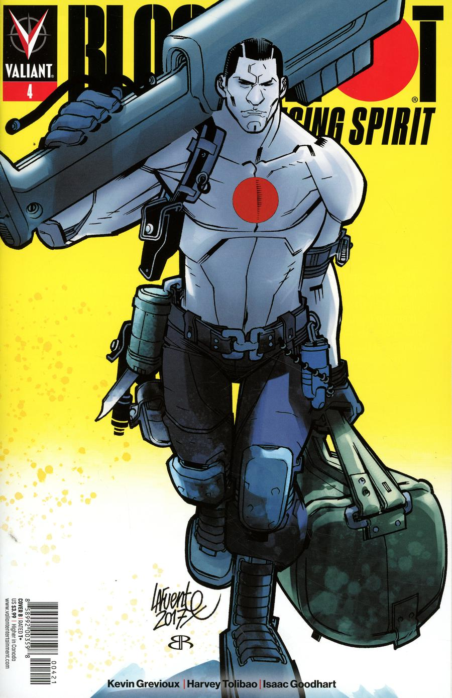 Bloodshot Rising Spirit #4 Cover B Variant David Lafuente Cover