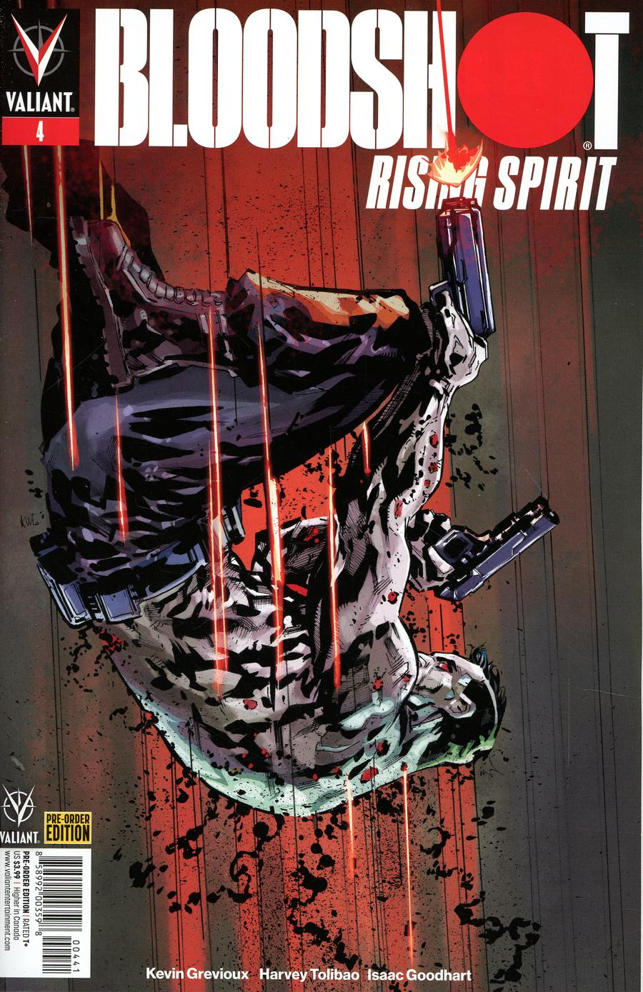 Bloodshot Rising Spirit #4 Cover C Variant Ken Lashley Cover