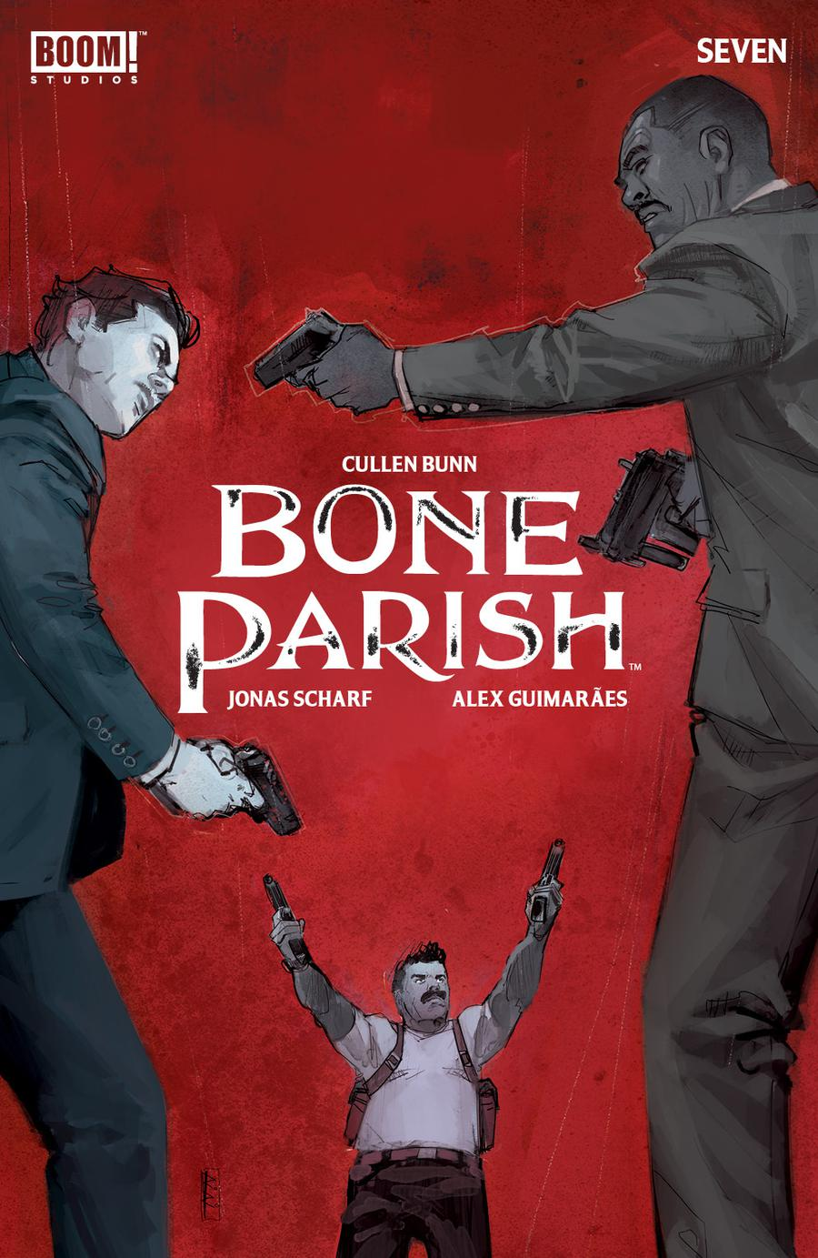Bone Parish #7 Cover A Regular Rod Reis Cover