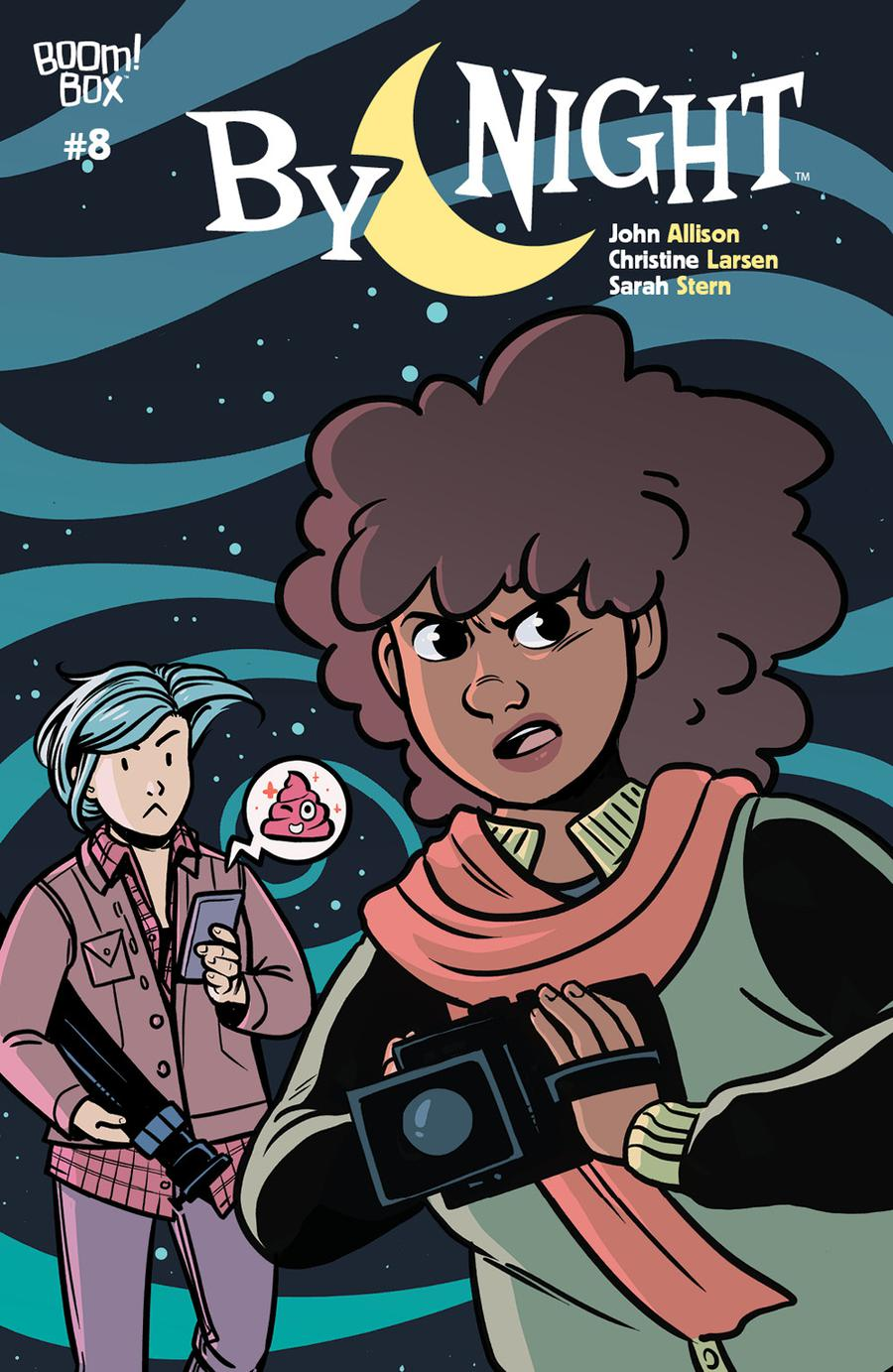 By Night #8 Cover B Variant Sarah Stern Preorder Cover