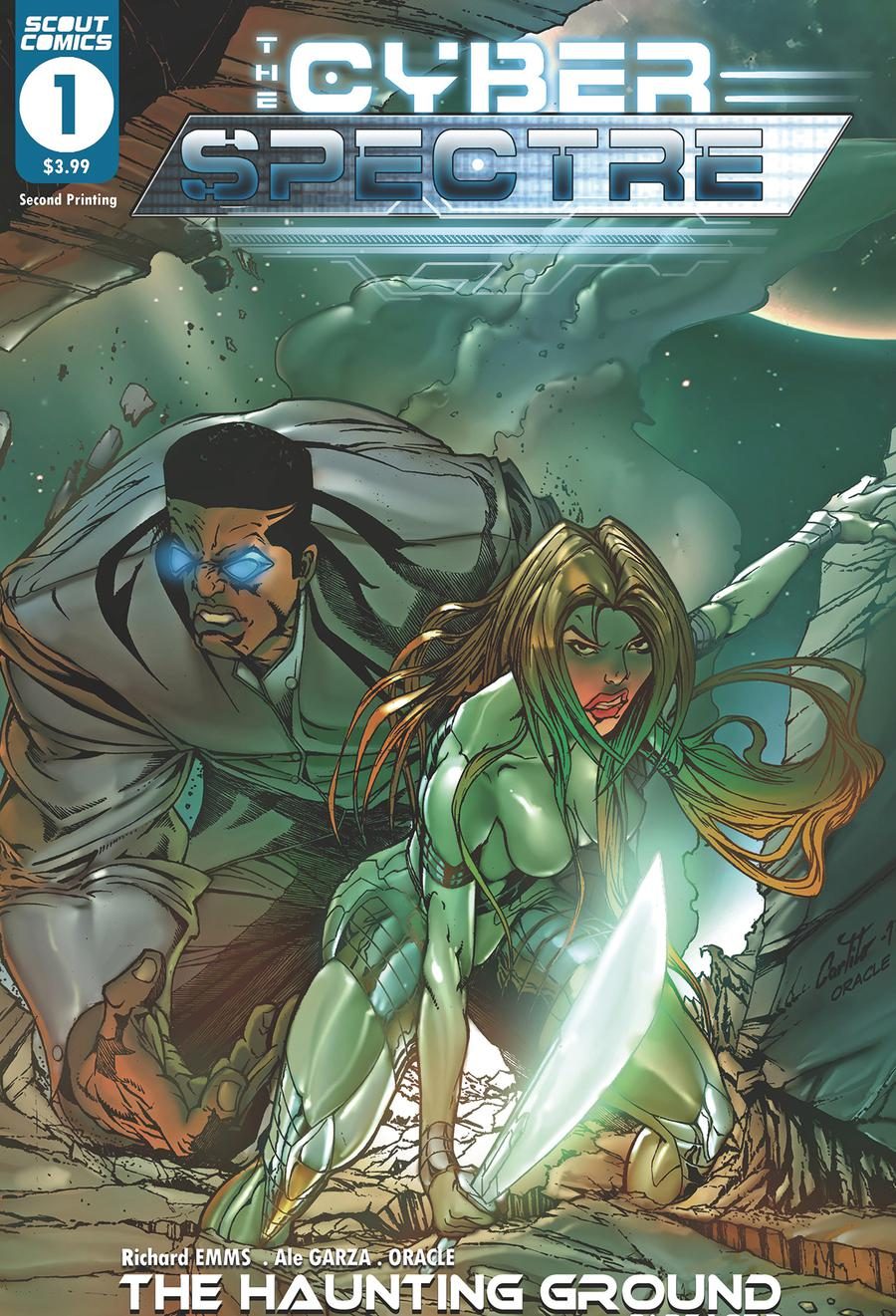 Cyber Spectre #1 Cover C 2nd Ptg