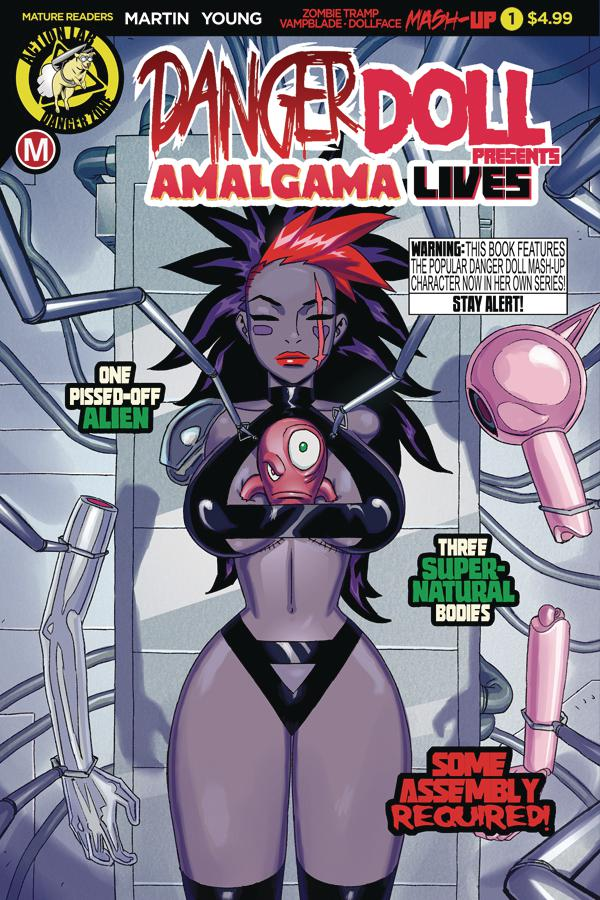Danger Doll Squad Presents Amalgama Lives #1 Cover A Regular Winston Young Cover