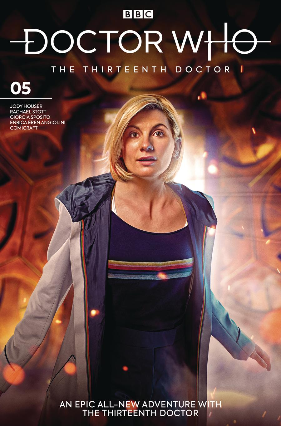 Doctor Who 13th Doctor #5 Cover B Variant Photo Cover