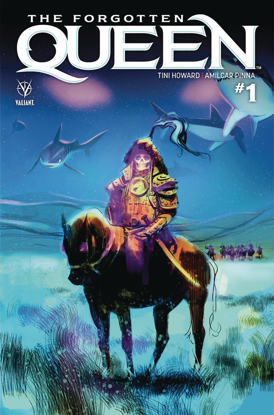 Forgotten Queen #1 Cover B Variant Viktor Kalvachev Cover