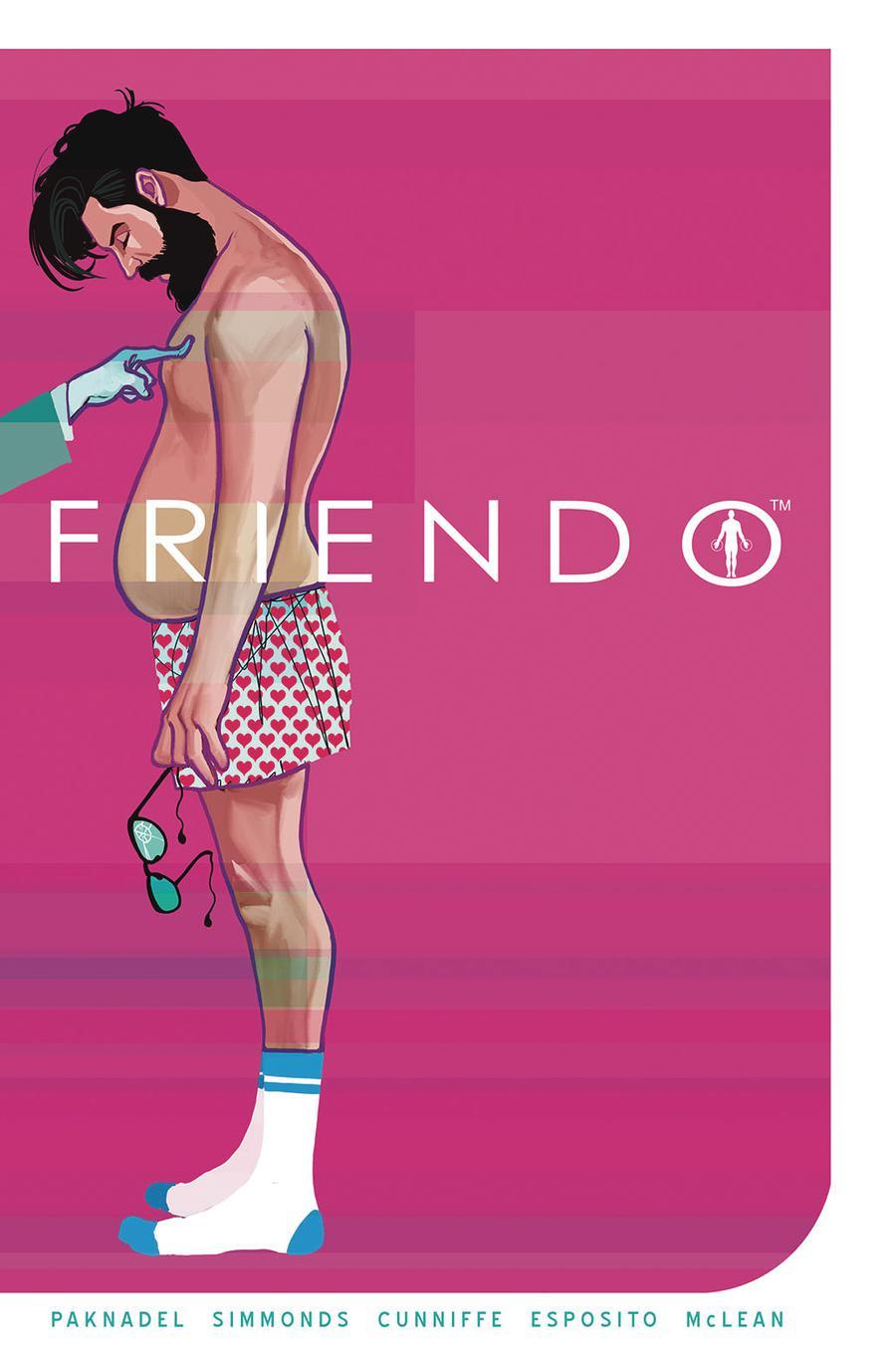 Friendo #5 Cover A Regular Martin Simmonds Cover