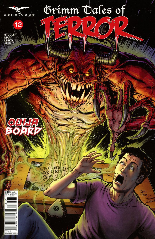 Grimm Fairy Tales Presents Grimm Tales Of Terror Vol 4 #12 Cover B Daniel Leister