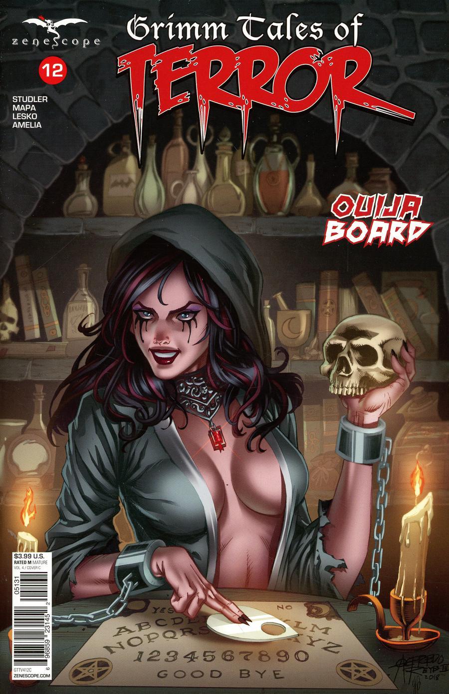 Grimm Fairy Tales Presents Grimm Tales Of Terror Vol 4 #12 Cover C Alfredo Reyes