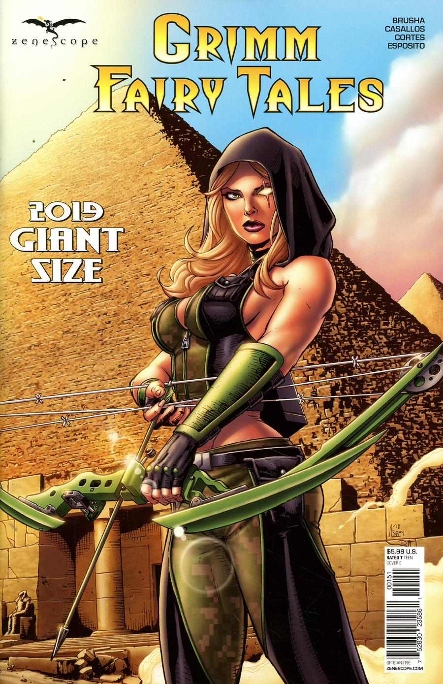 Grimm Fairy Tales 2019 Giant-Size #1 Cover E Anthony Spay
