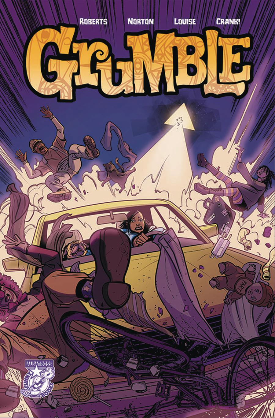 Grumble #4 Cover A Regular Mike Norton Cover