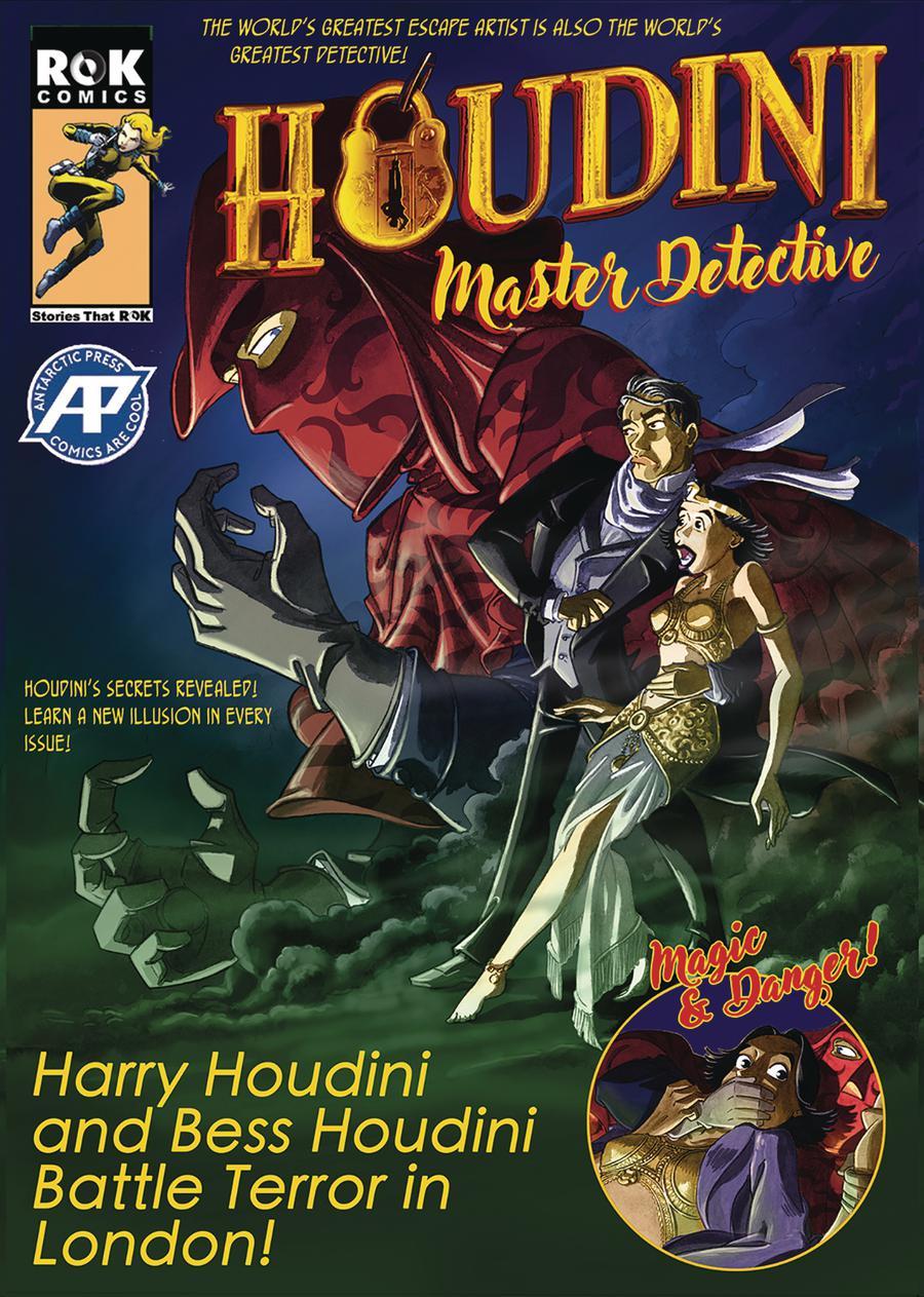 Houdini Master Detective One Shot