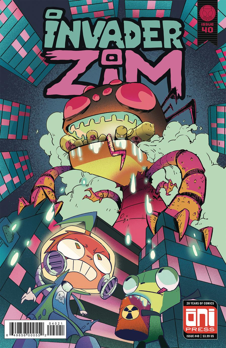 Invader Zim #40 Cover B Variant Stephen Park Cover