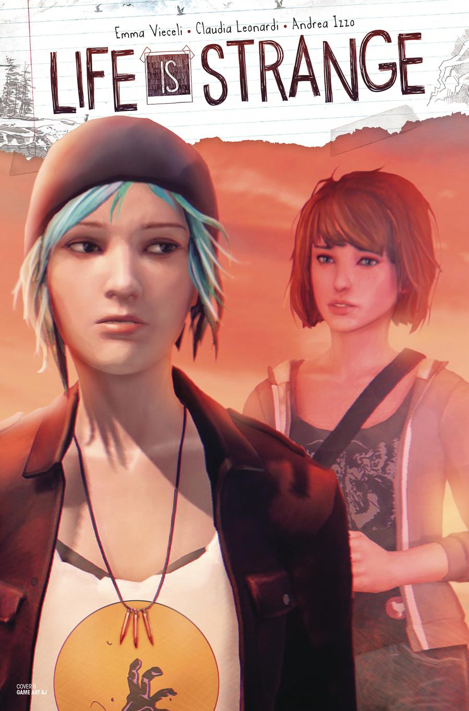 Life Is Strange #4 Cover B Variant Game Art Cover