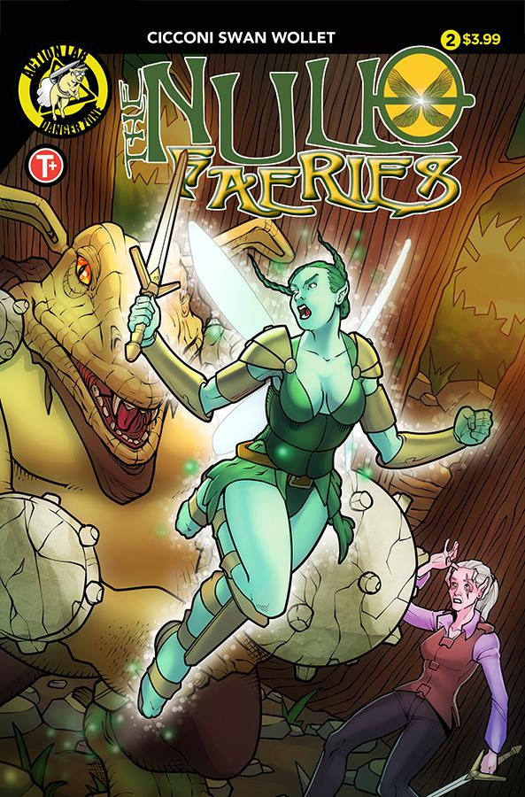 Null Faeries #2 Cover A Regular Chad Cicconi Cover