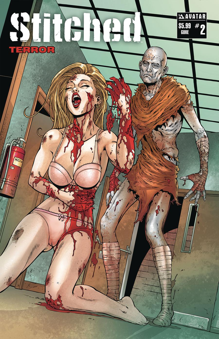 Stitched Terror #2 Cover D Gore Cover