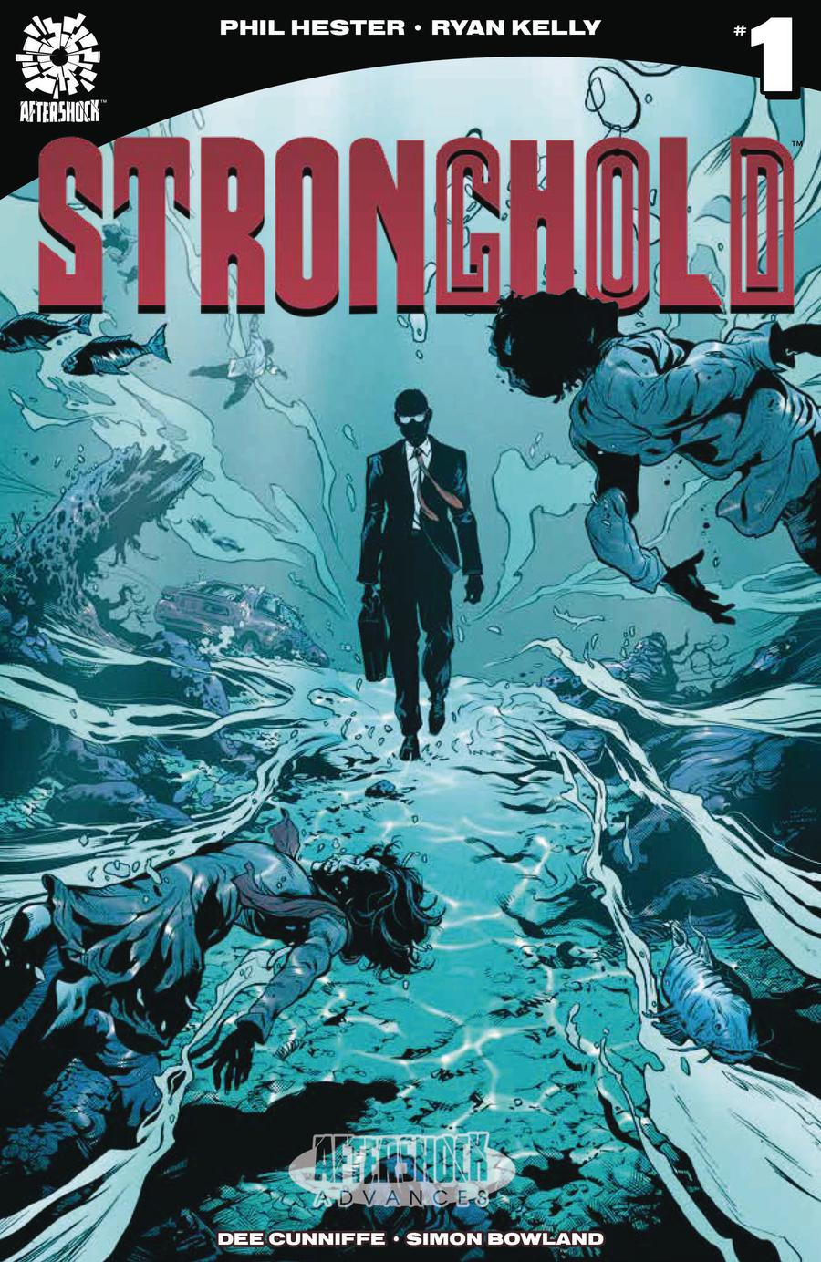 Stronghold Vol 2 #1 Cover A Regular Ryan Kelly Cover