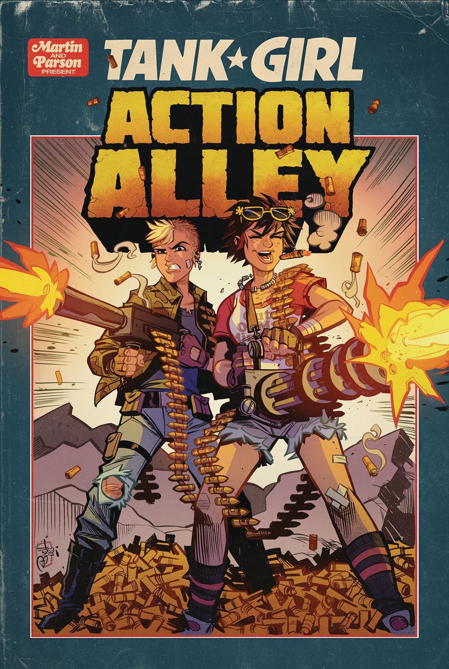Tank Girl Vol 3 #3 Action Alley Cover A Regular Brett Parson Cover