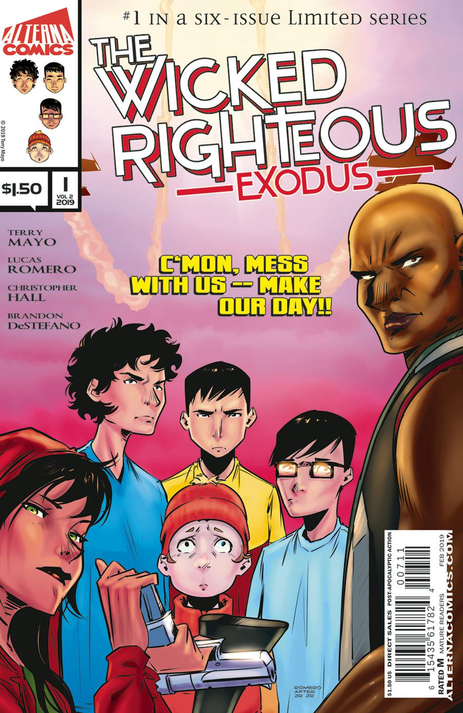 Wicked Righteous Vol 2 #1