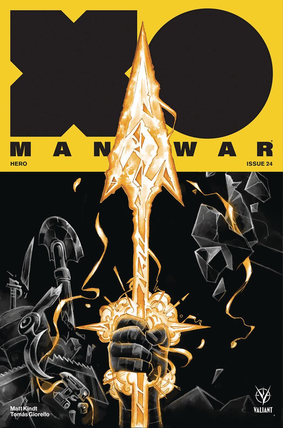X-O Manowar Vol 4 #24 Cover C Variant Michael Manomivibul Cover