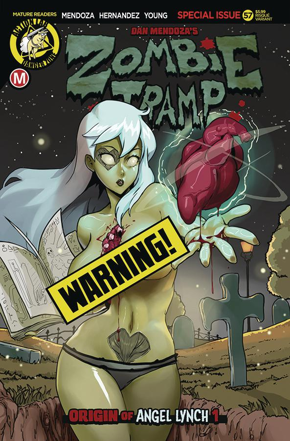 Zombie Tramp Vol 2 #57 Cover B Variant TMChu Risque Cover