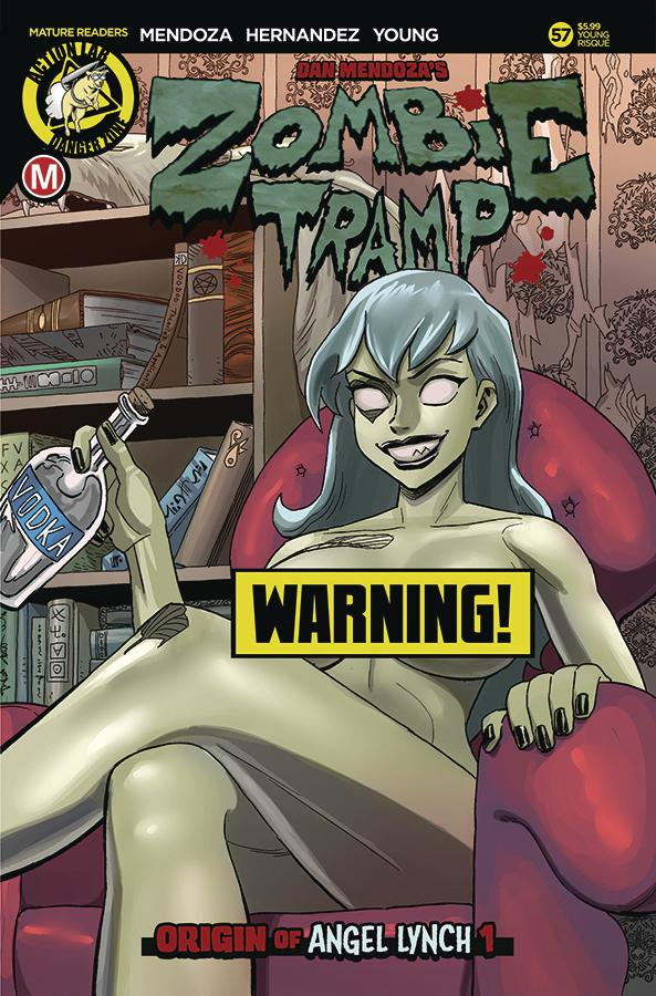 Zombie Tramp Vol 2 #57 Cover F Variant Winston Young Risque Cover