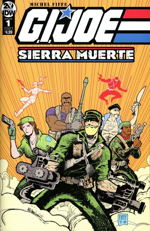 GI Joe Sierra Muerte #1 Cover A Regular Michel Fiffe Cover