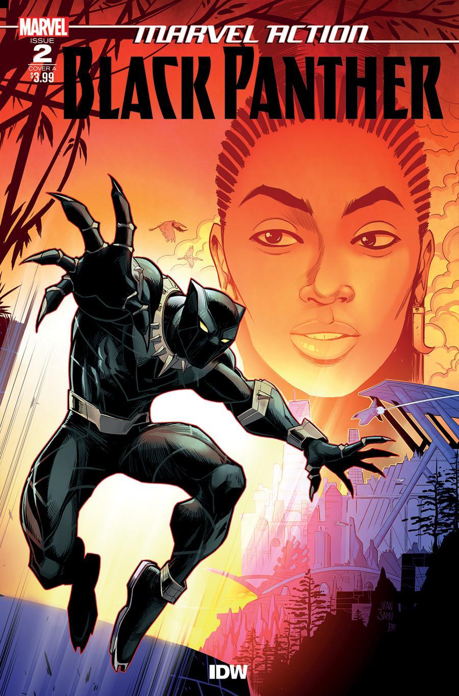Marvel Action Black Panther #2 Cover A Regular Juan Samu Cover
