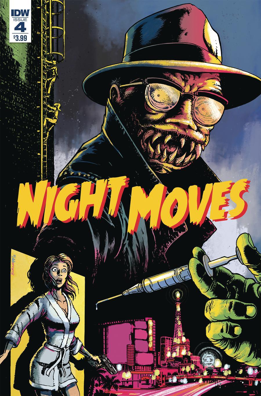 Night Moves #4 Cover A Regular Chris Burnham Cover