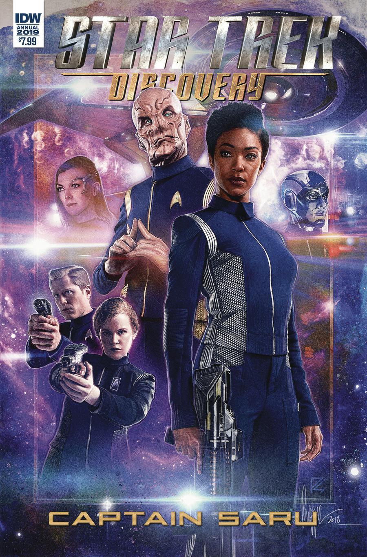 Star Trek Discovery Captain Saru Cover A Regular Paul Shipper Cover