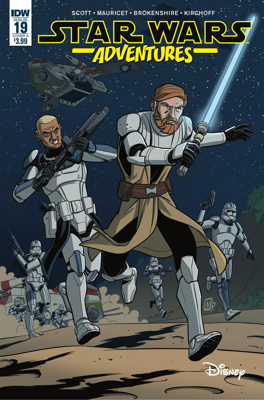 Star Wars Adventures #19 Cover A Regular Mauricet Cover
