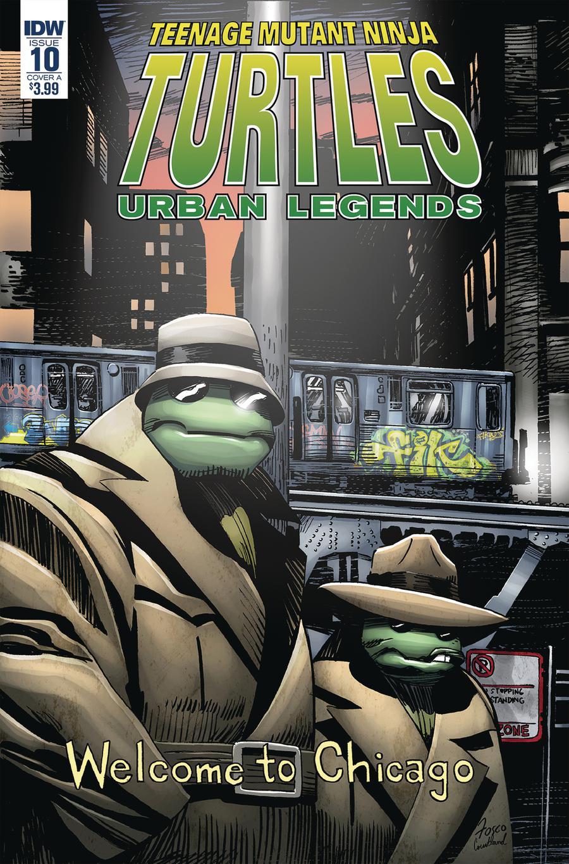 Teenage Mutant Ninja Turtles Urban Legends #10 Cover A Regular Frank Fosco Cover