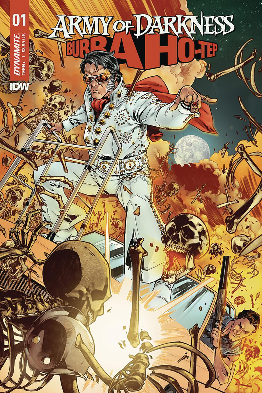 Army Of Darkness Bubba Ho-Tep #1 Cover A Regular Carlos Gomez Cover