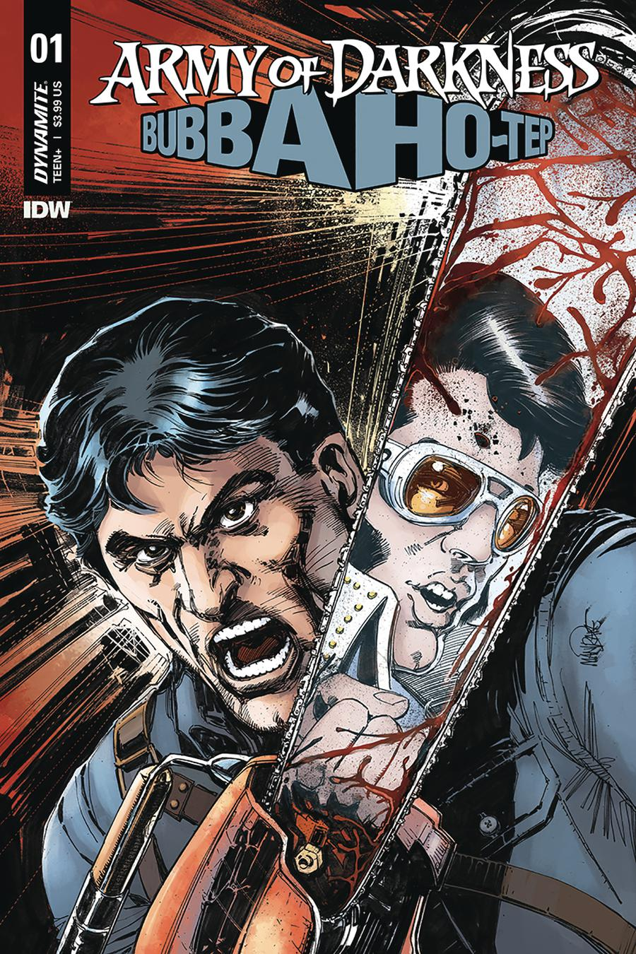 Army Of Darkness Bubba Ho-Tep #1 Cover B Variant Tom Mandrake Cover