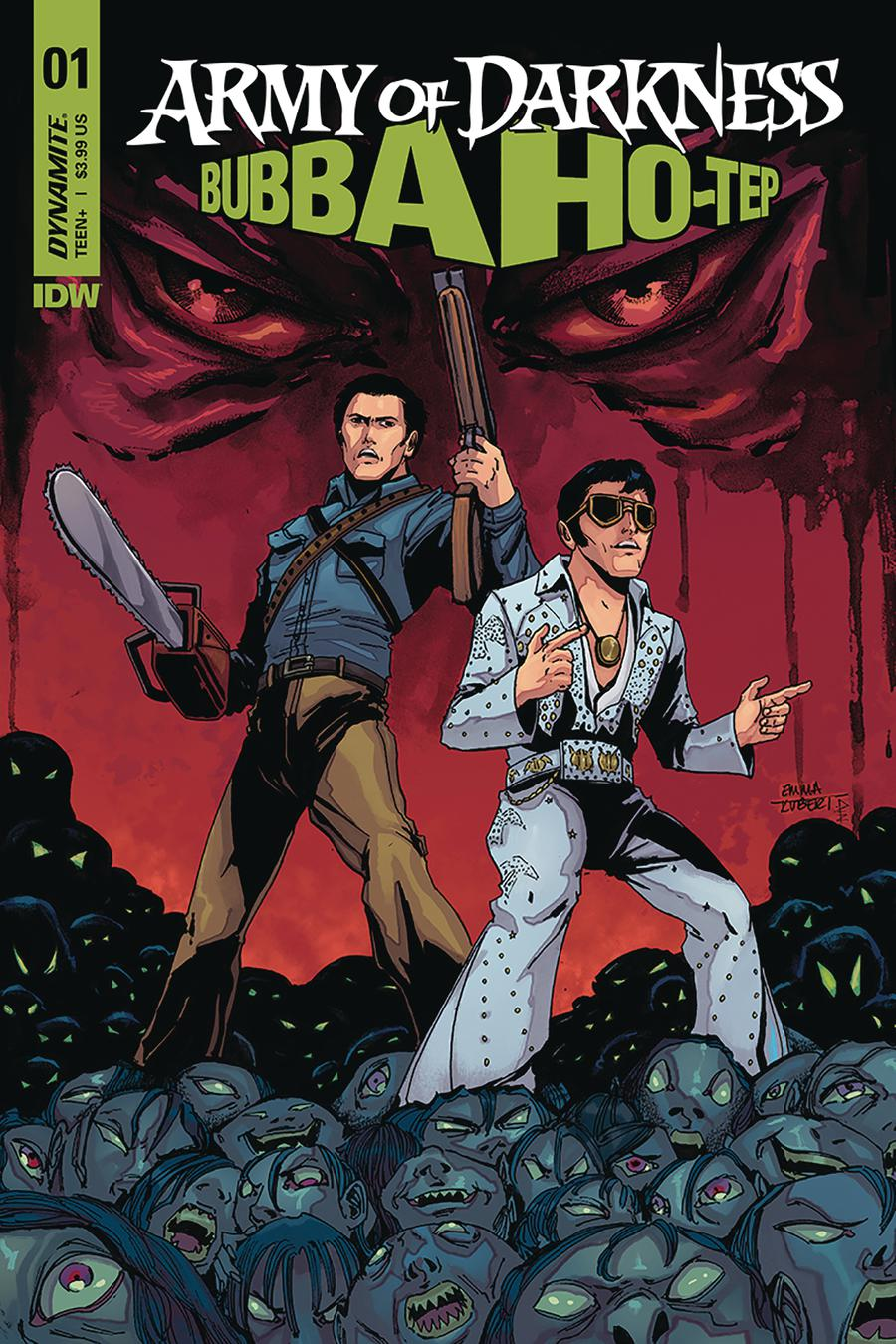 Army Of Darkness Bubba Ho-Tep #1 Cover E Variant Emma Kubert Cover