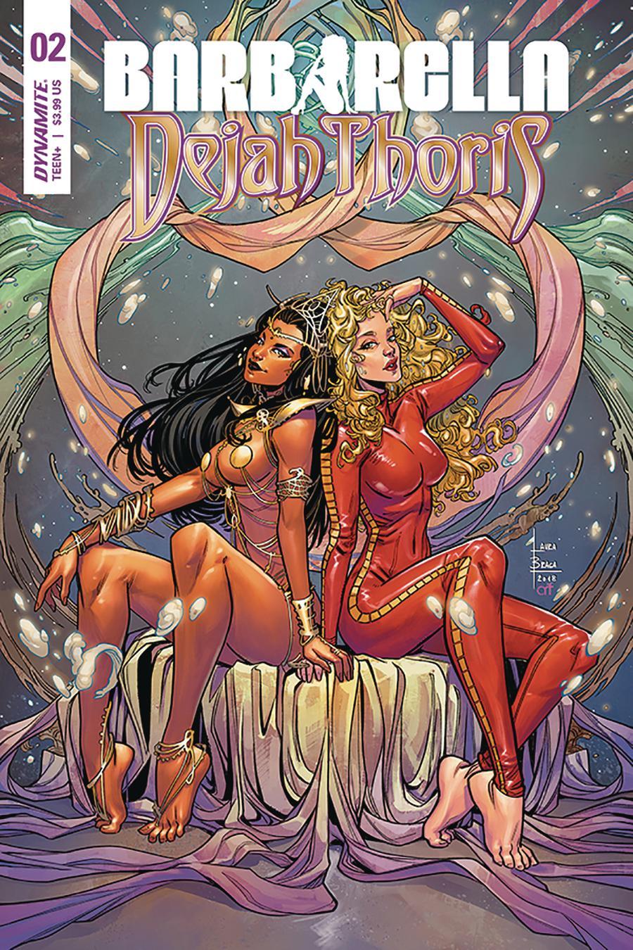 Barbarella Dejah Thoris #2 Cover A Regular Laura Braga Cover