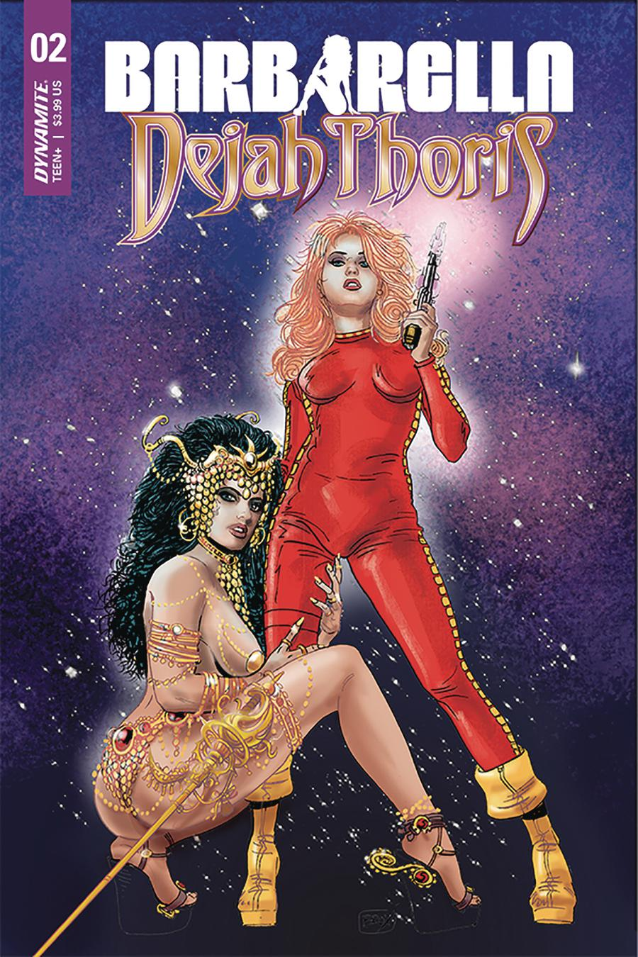 Barbarella Dejah Thoris #2 Cover C Variant Jimmy Broxton Cover