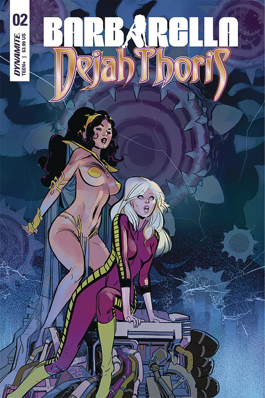Barbarella Dejah Thoris #2 Cover D Variant German Garcia Cover