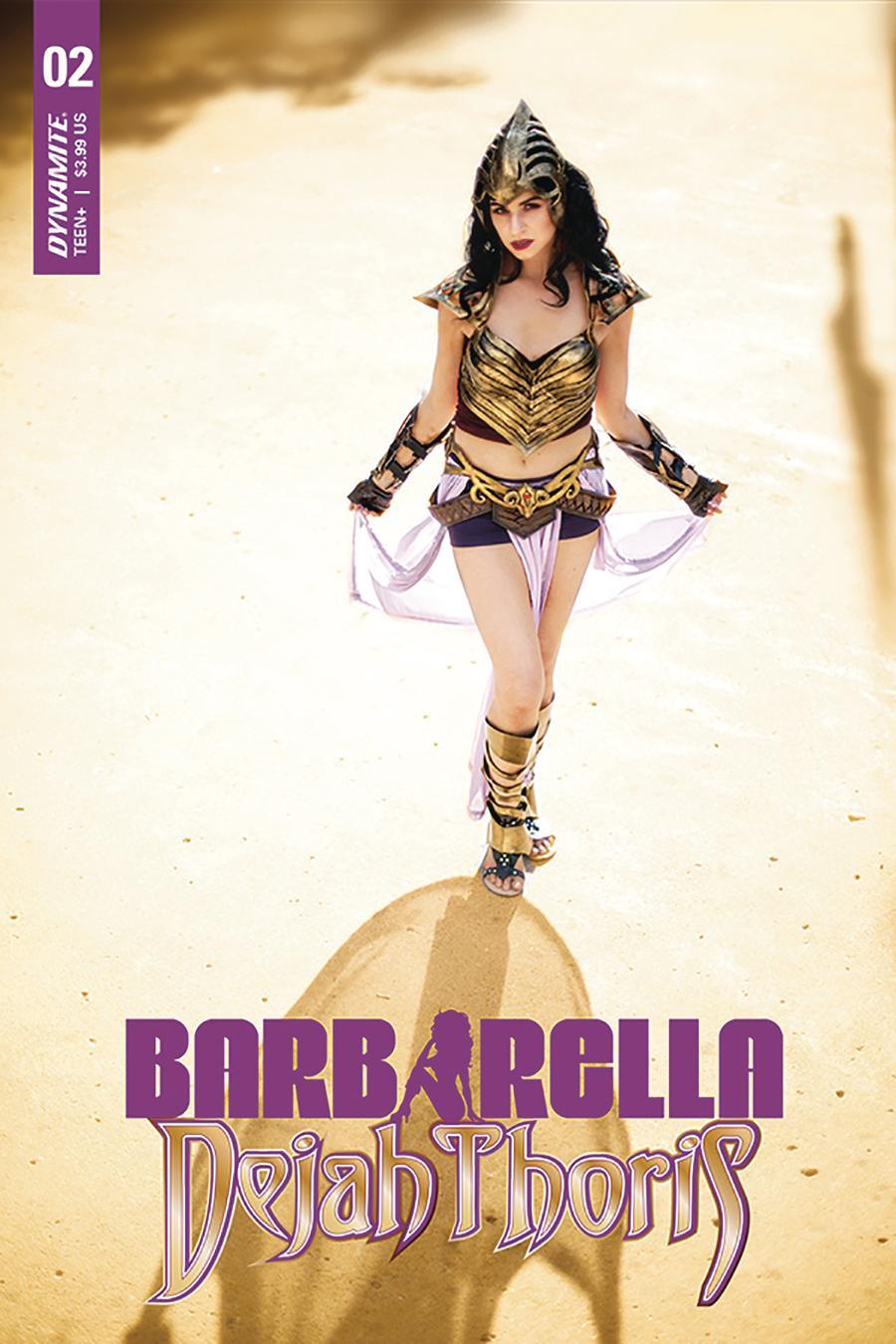 Barbarella Dejah Thoris #2 Cover E Variant Cosplay Photo Cover
