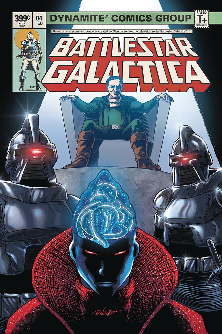 Battlestar Galactica Classic #4 Cover B Variant Daniel HDR Cover