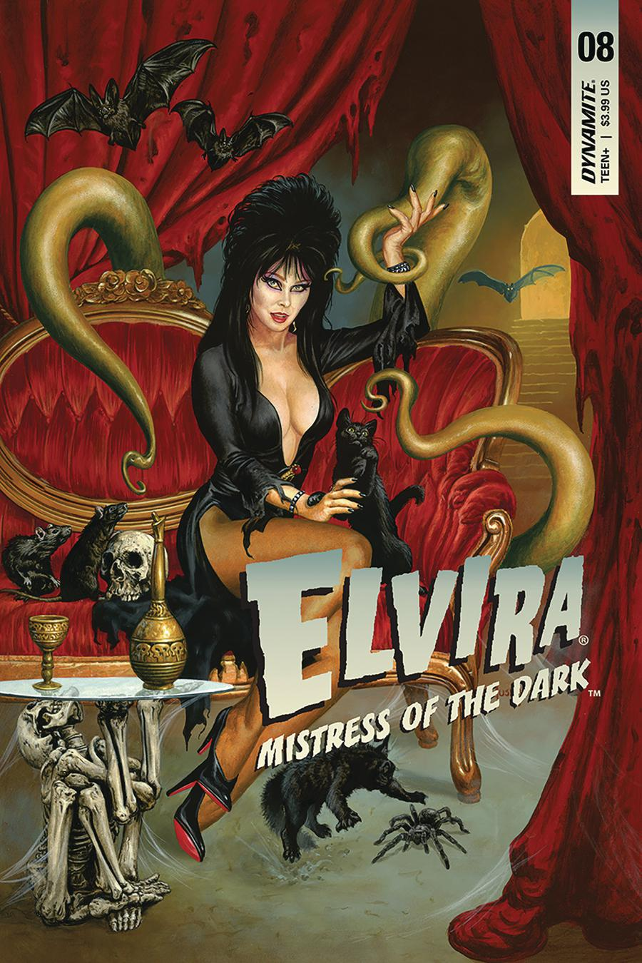 Elvira Mistress Of The Dark Vol 2 #8 Cover A Regular Joe Jusko Cover