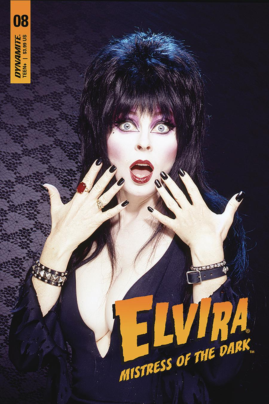 Elvira Mistress Of The Dark Vol 2 #8 Cover D Variant Photo Subscription Cover