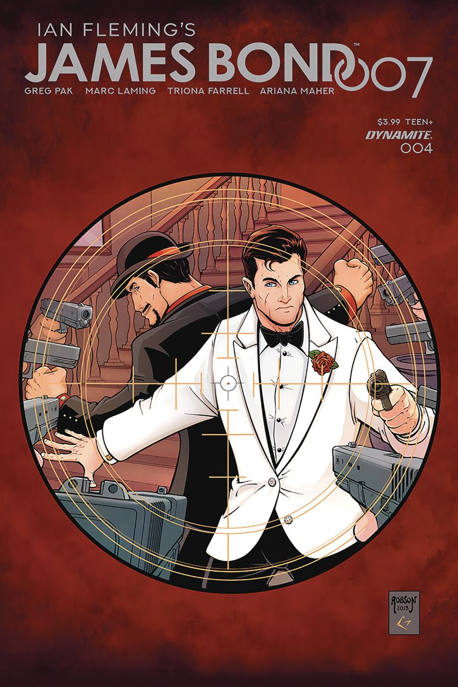 James Bond 007 #4 Cover B Variant Will Robson Cover