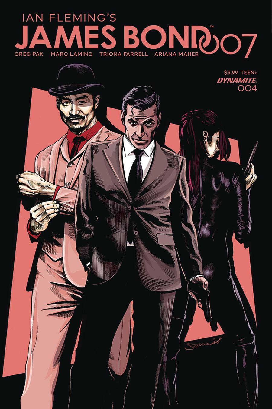 James Bond 007 #4 Cover D Variant Stephen Mooney Cover