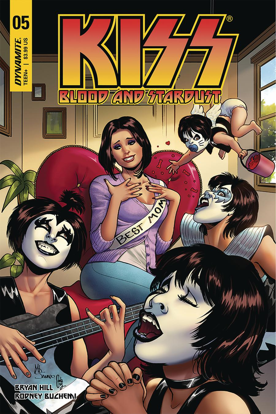 KISS Blood And Stardust #5 Cover C Variant Maria Sanapo Cover